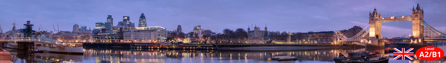 London Tower Bridge by night Unterrichtsmaterial Landeskunde Lehrmittel