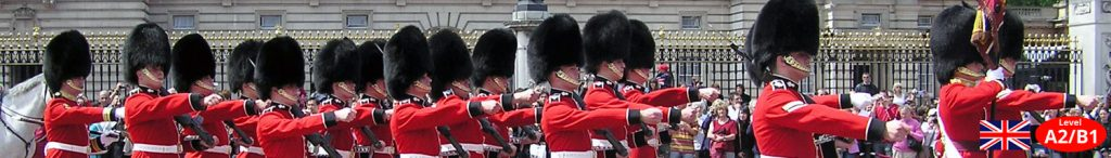 London Changing of the Guards Unterrichtsmaterial Landeskunde Lehrmittel